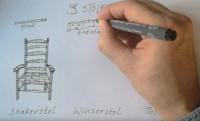 Søren tegner og fortæller om de tre traditionelle stoletyper